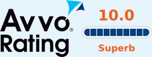 Avvo Rating 10.0 Superb