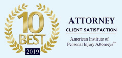 10 Best 2019 Attorney Client Satisfaction - American Institute of Personal Injury Attorneys
